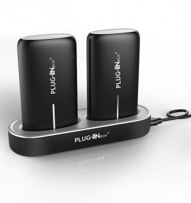 Plug-in Box | Twins docking station universale carica batterie portatili