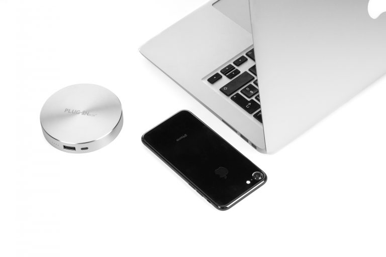 Disk - power bank - argento 3