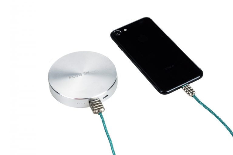 Disk - power bank - argento 4