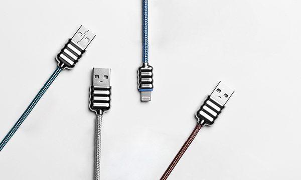 Cavo USB Glitter blue 6