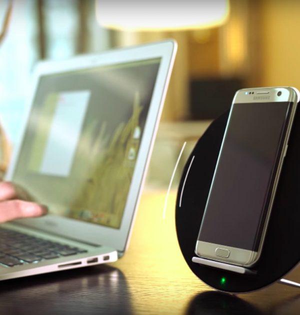 stazione ricarica wireless qi audio 2
